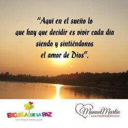 Frases de Manuel Martín   Manuel Martín, maestro de dios