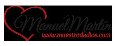 Logo de Manuel Martín, maestro de dios | El amor es mi única religión, mi único camino